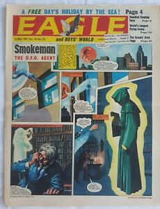"""Eagle Magazine 6 May 1967 """"Smokeman U.F.O Agent + More Classics """"See Pictures"""