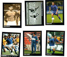 6 FIGURINE N°17-45-90-95-137-175=SUPER ALBUM IN AZZURRO=PANINI MODENA