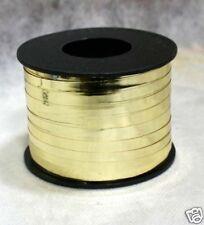"Mirror Gold 3/16"" Ribbon 100 Yards Spool"