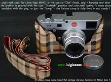 LUIGI's CASE for LEICA M240,MP240+GRIP+STRAP+FEDEX,LAST CLAN FINISH,NOT A COPY..