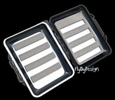 Small Plastic Lightweight Waterproof Floating Fly Fishing Fly Box