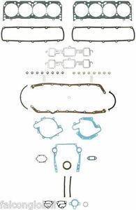 Oldsmobile / Olds / 403 V8 FelPro Full Gasket Set Head+Exhaust+Oil Pan 1977-1979