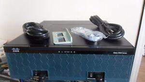 CISCO 3945E-SEC/K9 4-Port Gigabit Security Router seck9 3900-SPE250/K9 3945E SEC
