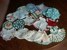 New listing 20 Piece Lot of Vintage Crocheted Hot Pads & Pot Holders