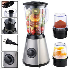 3in1 Electric Blender Mixer Chopper Grinder Multi Function Food Fruit Processor