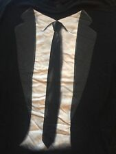 LY black FAUX SUIT PICTURE t-shirt by INK INC.