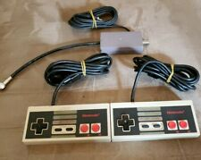 2 NES Controller Pads & R/F Switch OEM NES-004 NES-003 Authentic OEM Tested