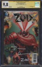 Action Comics #23.2 / Zod #1 Lenticular__CGC 9.8 SS__Signed by Terrance Stamp