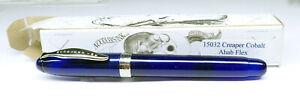 Noodler's Ink Ahab Flex Fountain Pen - #15032 Creaper Cobalt