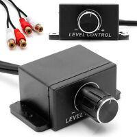 New Car Amplifier Bass RCA Level Remote Volume Control Knob LC-1 Set Universal