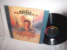 s/t MAD MAX BEYOND THUNDERDOME TINA TURNER WITH POSTER VG+/VG+ LP