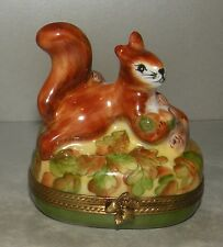 New Squirrel, Limoges Box Number 37 New