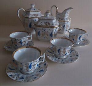 Service Tea Porcelain from Paris Old Paris Xixème