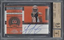 A.J. GREEN 2011 PLAYOFF CONTENDERS ROOKIE TICKET ON CARD TRUE RC AUTO BGS 9.5