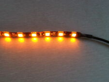 "12"" LED 15 Bright Amber Indicator Strip Motorbike Van Camper Caravan UK Seller"
