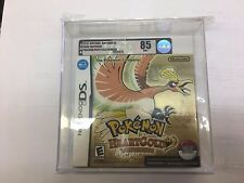 POKEMON: HEARTGOLD VERSION - NINTENDO DS - NEW GRADED - VGA 85