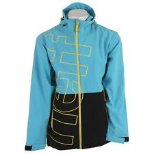 NEFF Men's DAILY Softshell Snow Jacket - Black/Blue - Large - NWT