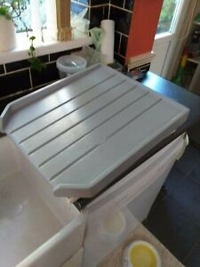 BELFAST SINK DRAINING BOARD DRAINER OLD SCHOOL GREY GLOSS AND IN WHITE /PINE /