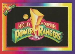MIGHTY MORPHIN POWER RANGERS SUPER PACKS single cards