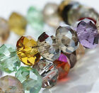 150pcs Crystal Loose Beads 3x4mm A37