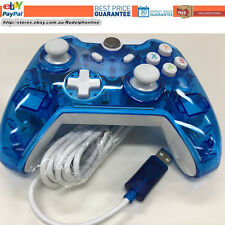 New LED Blue USB wired Controller Gamepad Joy for Mircosoft  Xbox one Xboxone