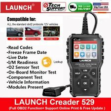 LAUNCH CR529 OBD OBD2 Car Fault Code Reader Check Engine Light Diagnostic Tool