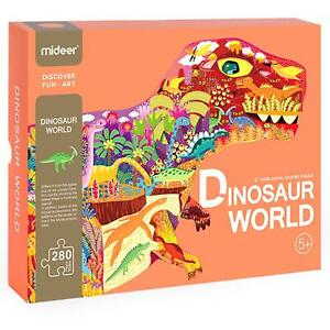 boppi Huge Childrens Kids Dino Shaped T-Rex 280 piece Jigsaw Puzzle