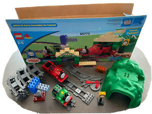 Lego Duplo Thomas & Friends JAMES & PERCY TUNNEL SET 65773 COMPLETE BOX