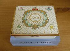 """Large Halcyon Days Queen Elizabeth II Diamond Jubilee Cypher Enamel Box <3 3/4"""""""
