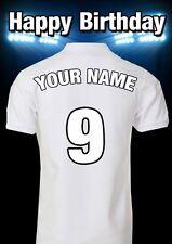 A5 Personalised Bristol City Shirt Football Greeting Birthday Card PIDMFF19