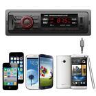 In Dash Car Audio Bluetooth Stereo Head Unit MP3/USB/SD/AUX/FM Input AUX