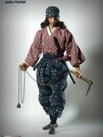 WOLFKING WK89011A 1/6 Scale Shishido Baiken 宍戸梅軒 Action Figure