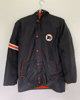 Vintage 1970's Stahl Urban NHL Philadelphia Flyers Jacket Size 20 (Fits Men's L)