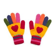 Kidorable Kid Knitted Love Heart Girl Warm Gloves Childrens Childs Fun Knitwear
