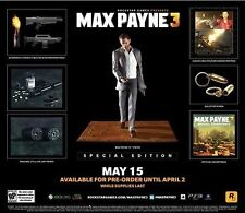 Max Payne 3 - Special Edition [Xbox 360, NTSC, Limited Collector's Edition] NEW