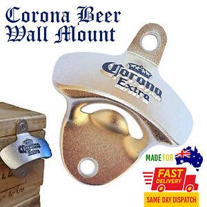 Corona Wall Mount Bottle Opener Beer Bar Man Cave Decor Gift Australia