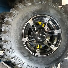 AMS Radial Pro Tire and Wheel combo for Polaris 4/156 26x12