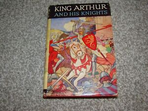 King Arthur and His Knights retold by Blanche Winder. Vintage hardback book