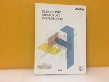 Anritsu Electronic Measurement Instruments 1998 Catalog