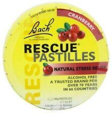 Bach Rescue Cranberry Pastilles Stress Relief 1 Pack-- Exp 11/2020