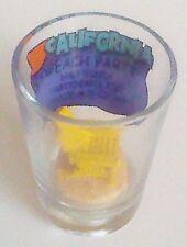 California Beach Party shot glass complete with mini beach chair