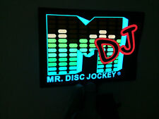 sound Activated DJ LED Flashing Light UP MDJ EQUALIZER WITH SENSOR FOR T SHIRT