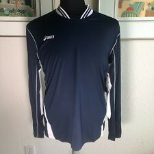 Nwt Asics Men's Digg Long Sleeve Activewear Volleyball Shirt Medium