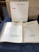 Vintage 1992 Microsoft Windows 3.1; MS-DOS & Pen Computing Manuals