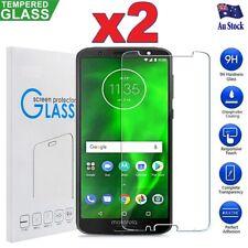 2X Motorola Moto G7 G6 Plus G6 Play E5 Tempered Glass Screen Protector Guard