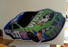 MARK GREEN Timber Wolf Tobacco Advertising Tin Sign NASCAR
