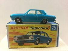 Matchbox Lesney Superfast #25 Ford Cortina G T,blue, G box