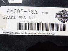 Harley-Davidson BRAKE PAD SET P/N 44005-78A
