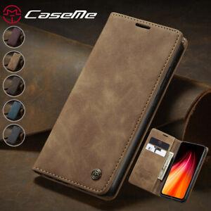 Leather Flip Wallet Case for Xiaomi 9T 10T Pro 11 Lite Redmi Note8 9 Pro Cover