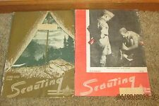 OLD Scouting Magazines ~1949 & 1951 ~Boy Scouts~Advertising